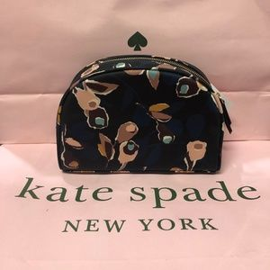 NWT Kate Spade Medium Dome Cosmetic Bag